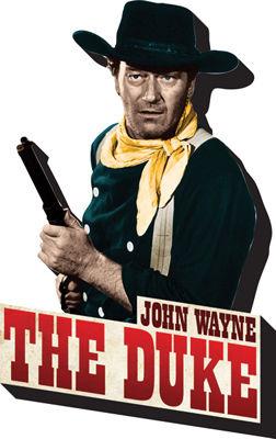 NMR Distribution Chunky Magnet - John Wayne