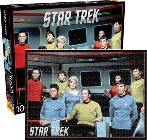 NMR Distribution Puzzle 1000 pc - Star Trek Crew