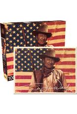 NMR Distribution Puzzle 1000 pc - John Wayne Flag