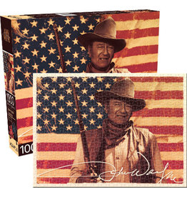 NMR Distribution Puzzle 1000 pc - John Wayne Flag
