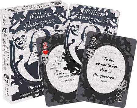 NMR Distribution Playing Cards - Shakespeare