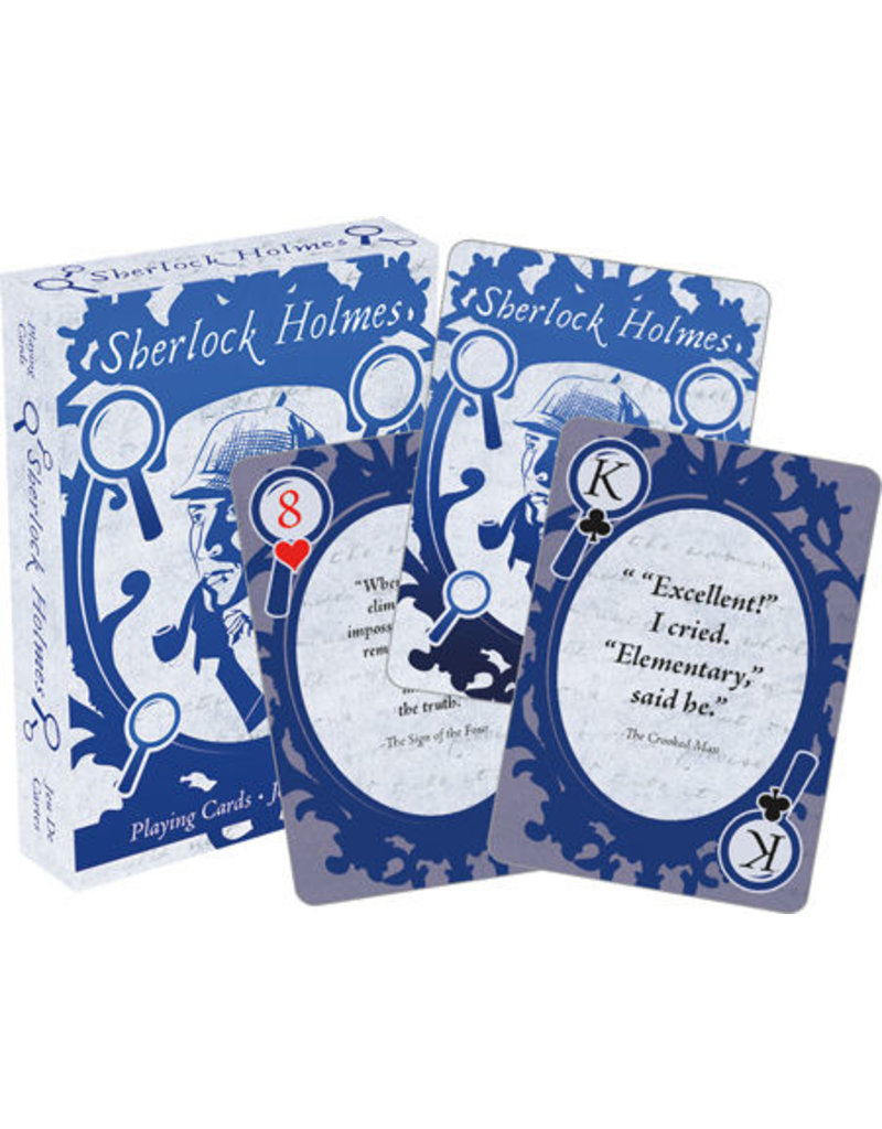 NMR Distribution Playing Cards - Sherlock Holmes