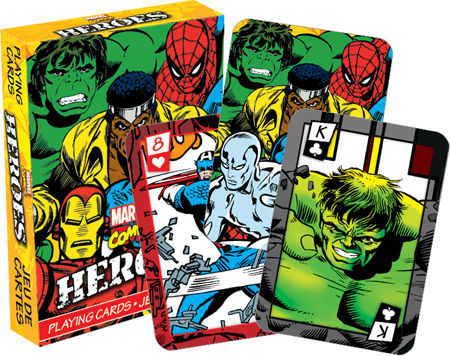 NMR Distribution Playing Cards - Marvel Heroes