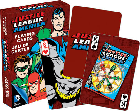 NMR Distribution Playing Cards - Retro Justice League