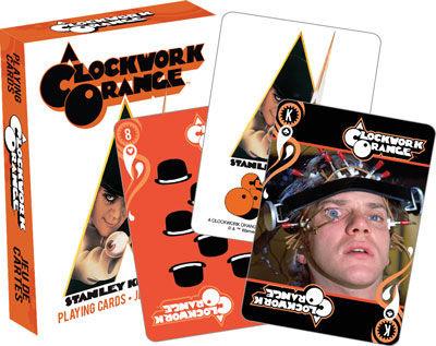 NMR Distribution Playing Cards - A Clockwork Orange