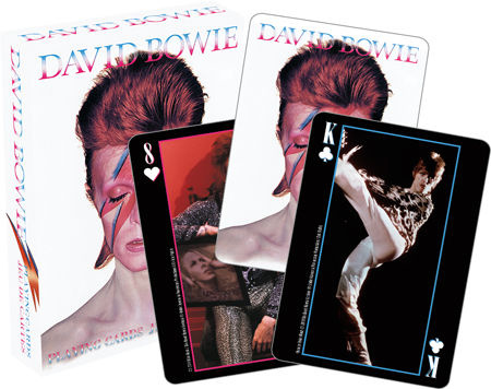 NMR Distribution Playing Cards - David Bowie