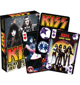 NMR Distribution Playing Cards - Kiss