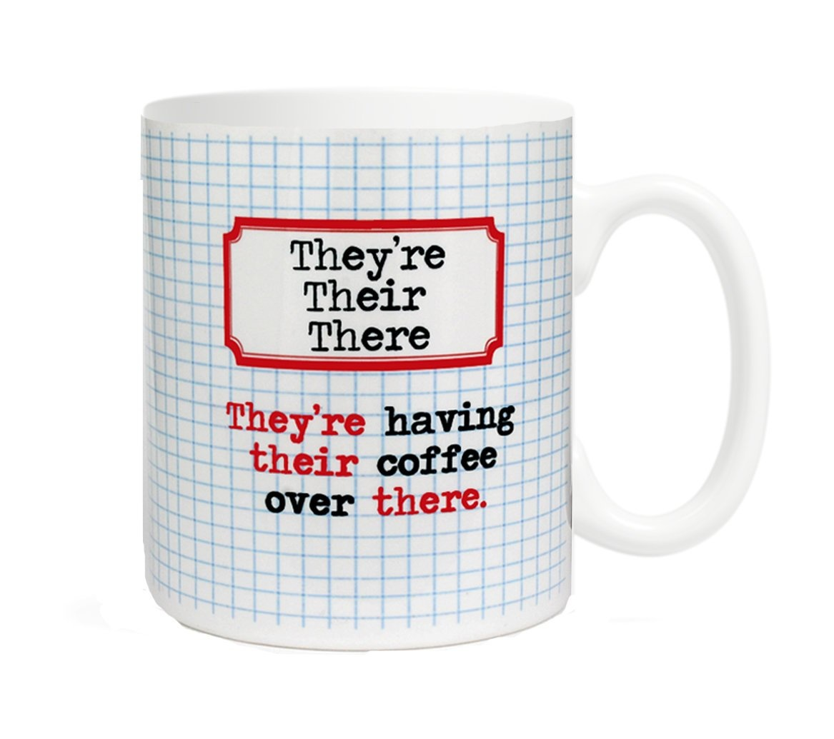 Fly Paper Products Mug - They're, Their, There