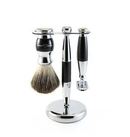 Edwin Jagger Edwin Jagger Safety Razor Set - Black