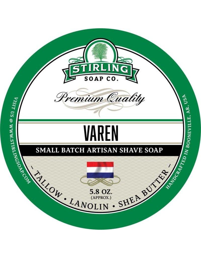 Stirling Soap Co. Stirling Shave Soap - Varen