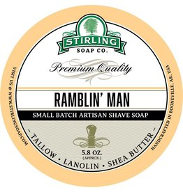 Stirling Soap Co. Stirling Shave Soap - Ramblin' Man