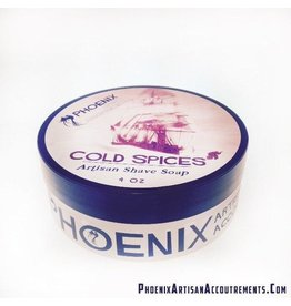 Phoenix Artisan Accoutrements PAA Cold Spices Shave Soap
