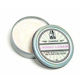 Dr. Jon's Dr. Jon's Essentials Shaving Soap - Lemongrass & Geranium