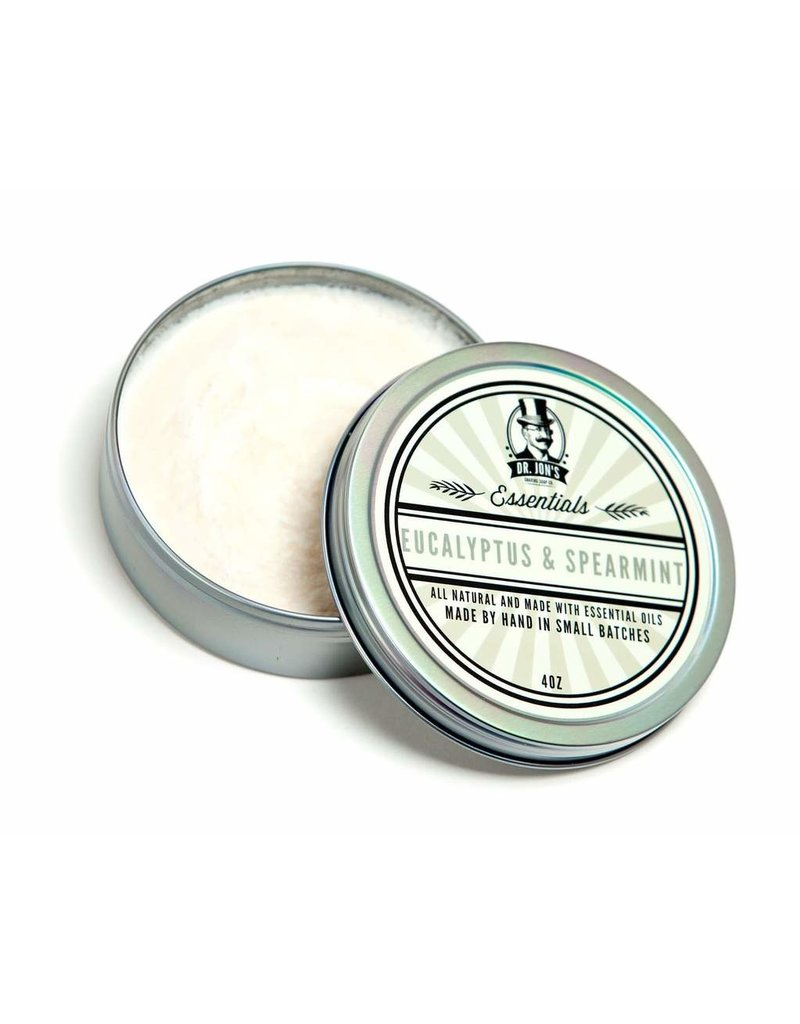 Dr. Jon's Dr. Jon's Essentials Shaving Soap - Eucalyptus & Spearmint