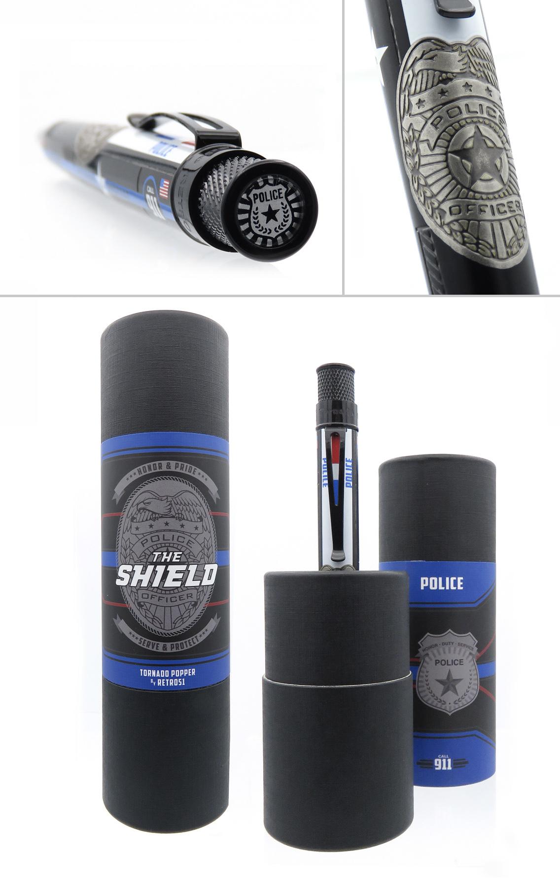 """Retro 51 Retro 51 """"The Shield"""" Rollerball Pen"""