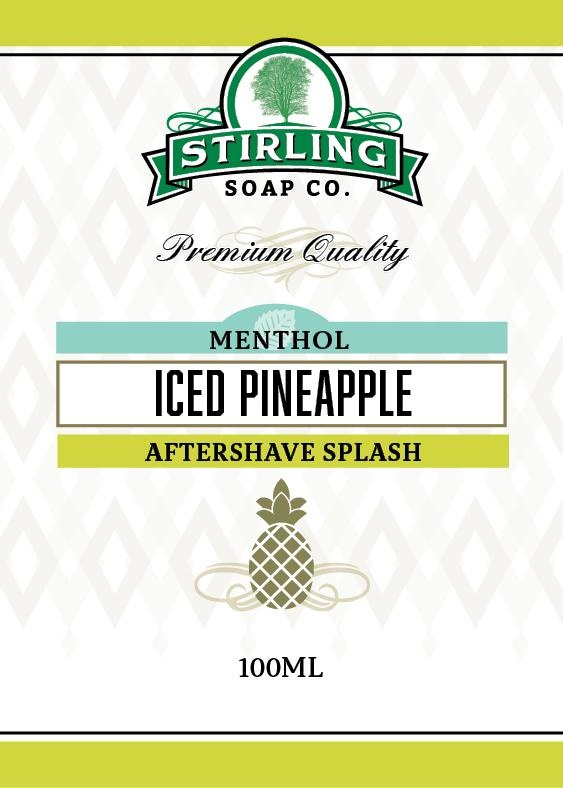 Stirling Soap Co. Stirling Aftershave Splash - Iced Pineapple