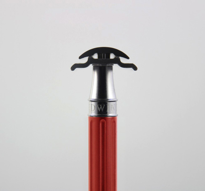 Edwin Jagger Edwin Jagger 3One6 Stainless Steel Red Safety Razor