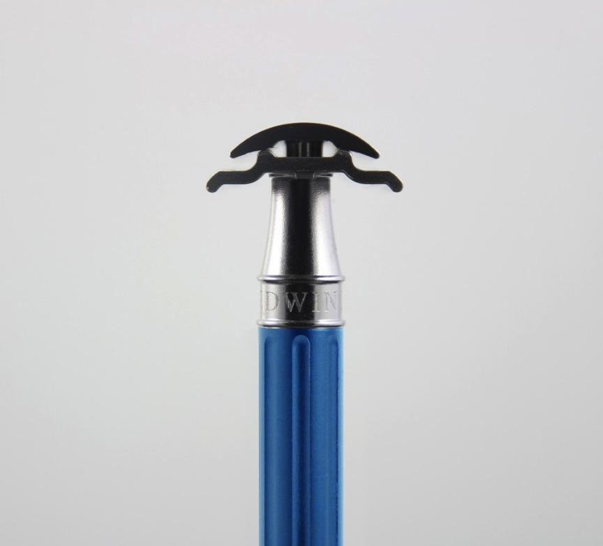 Edwin Jagger Edwin Jagger 3One6 Stainless Steel Blue Safety Razor