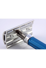 Edwin Jagger Edwin Jagger 3One6 Stainless Steel Blue Safety Razor