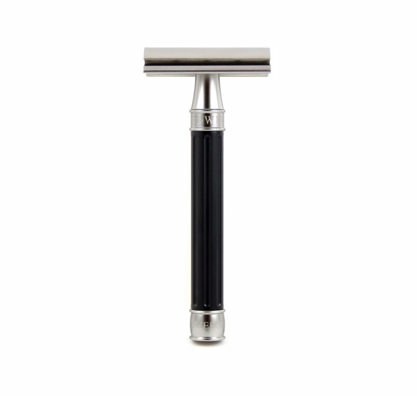 Edwin Jagger Edwin Jagger 3One6 Stainless Steel Black Safety Razor