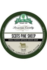 Stirling Soap Co. Stirling Shave Soap - Scots Pine Sheep