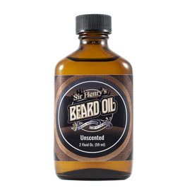 Black Tie Razor Company Sir Henry's Beard & Pre-Shave Oil - Unscented