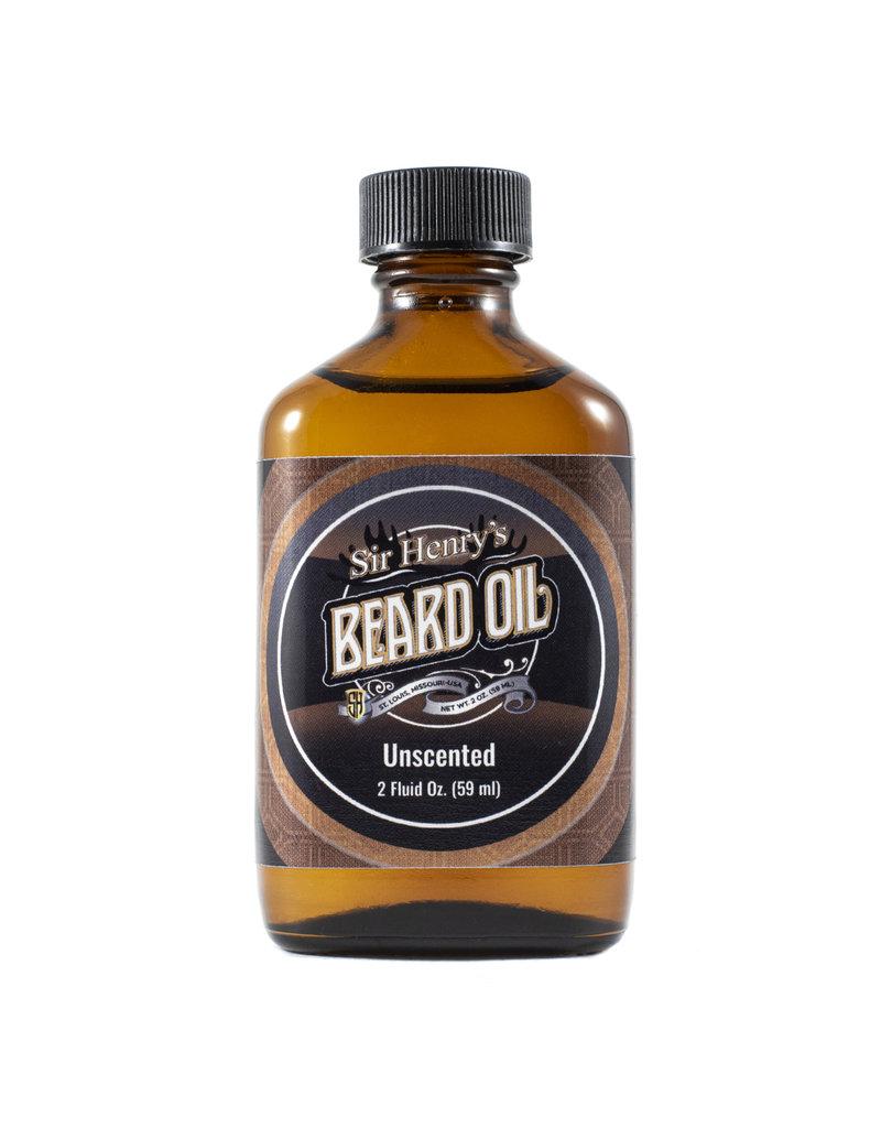 Black Tie Razor Company Sir Henry's Beard & Pre-Shave Oil - Unscented