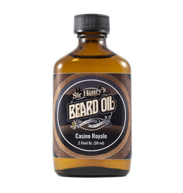 Black Tie Razor Company Sir Henry's Beard & Pre-Shave Oil - Casino Royale