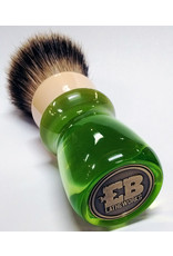 E.B. Latheworks E.B. Latheworks Best Badger Shave Brush - Green Handle