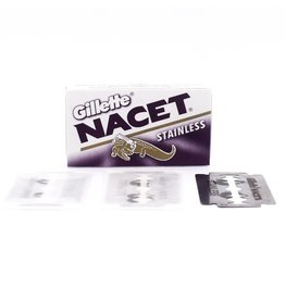 Gillette Nacet Stainless Double Edge Blades