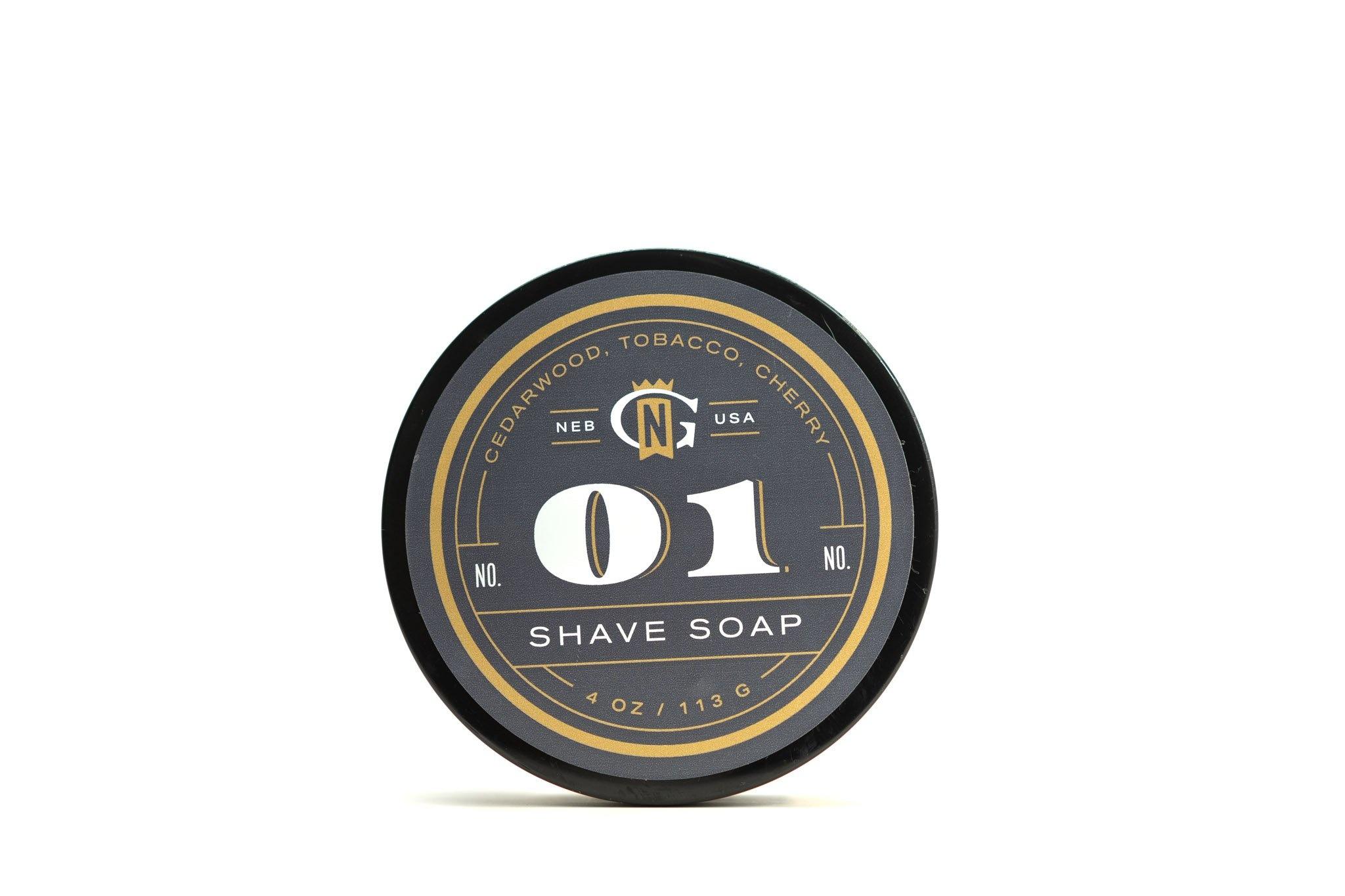 Gentleman's Nod Gentleman's Nod Shave Soap - George 01
