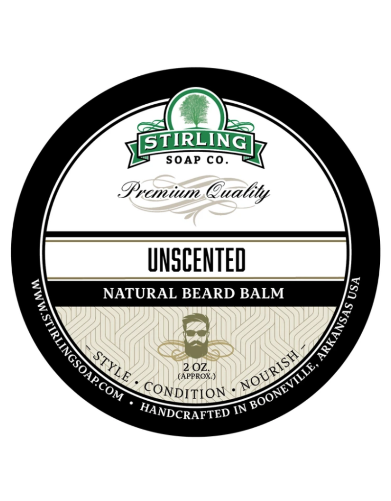Stirling Soap Co. Stirling Beard Balm 2 oz - Unscented