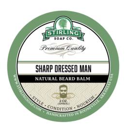 Stirling Soap Co. Stirling Beard Balm 2 oz - Sharp Dressed Man