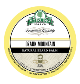 Stirling Soap Co. Stirling Beard Balm 2 oz - Ozark Mountain