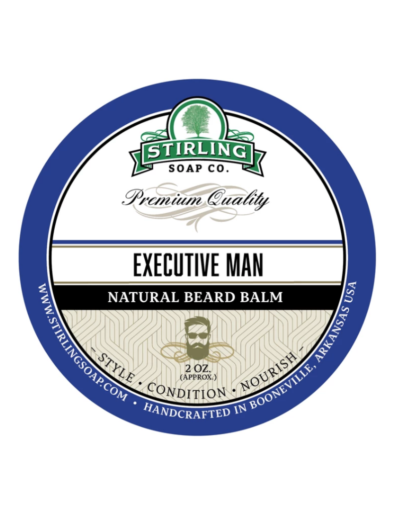 Stirling Soap Co. Stirling Beard Balm 2 oz - Executive Man