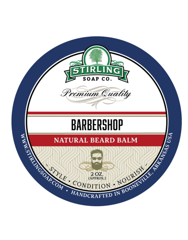 Stirling Soap Co. Stirling Beard Balm 2 oz - Barbershop
