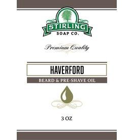Stirling Soap Co. Stirling Beard & Pre-Shave Oil - Haverford