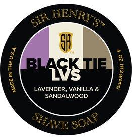 Black Tie Razor Company Sir Henry's LVS Shave Soap