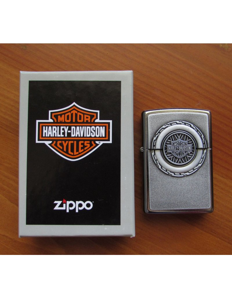 Zippo Harley Davidson Hidden Engine Lighter