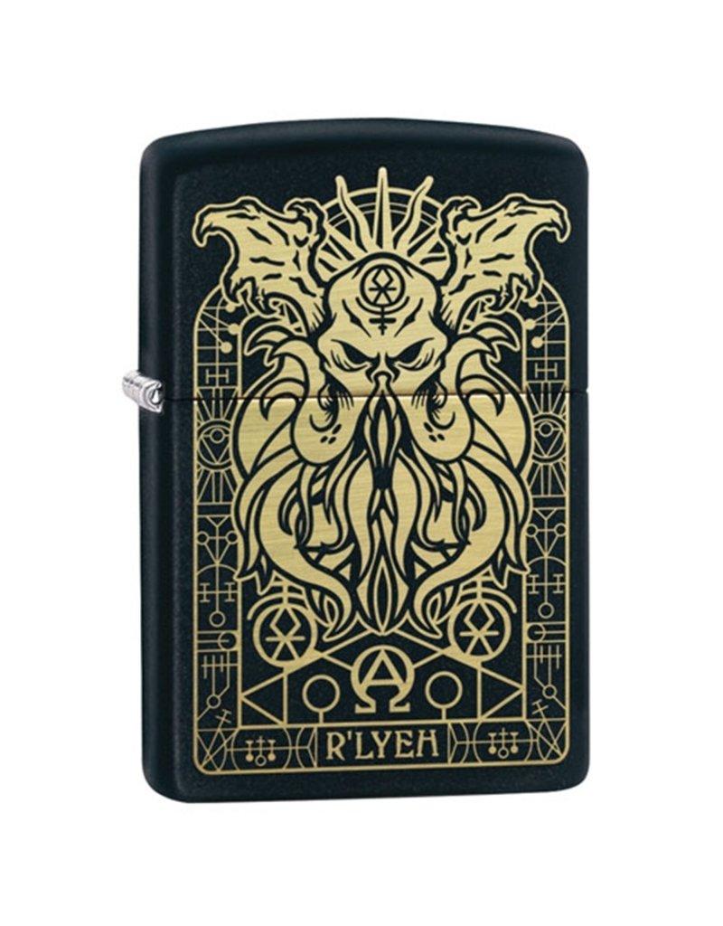 Zippo Monster Black Matte Lighter
