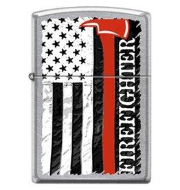 Zippo Firefighter Flag & Axe Lighter
