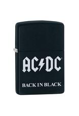 Zippo ACDC Back In Black Lighter