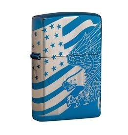 Zippo 360 Laser Eagle & Flag Lighter