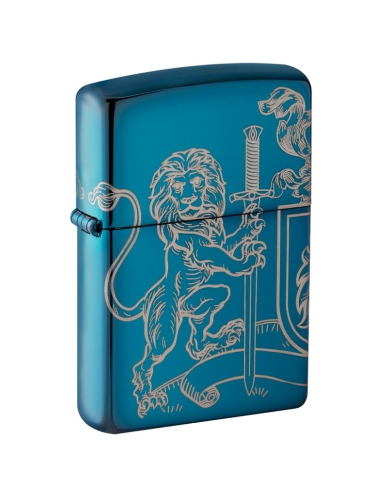 Zippo Lion Coat of Arms Lighter