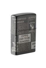 Zippo Herald Newsprint Lighter