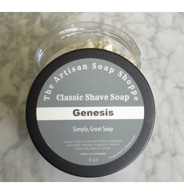 The Artisan Soap Shoppe The Artisan Soap Shoppe - Genesis Shaving Soap