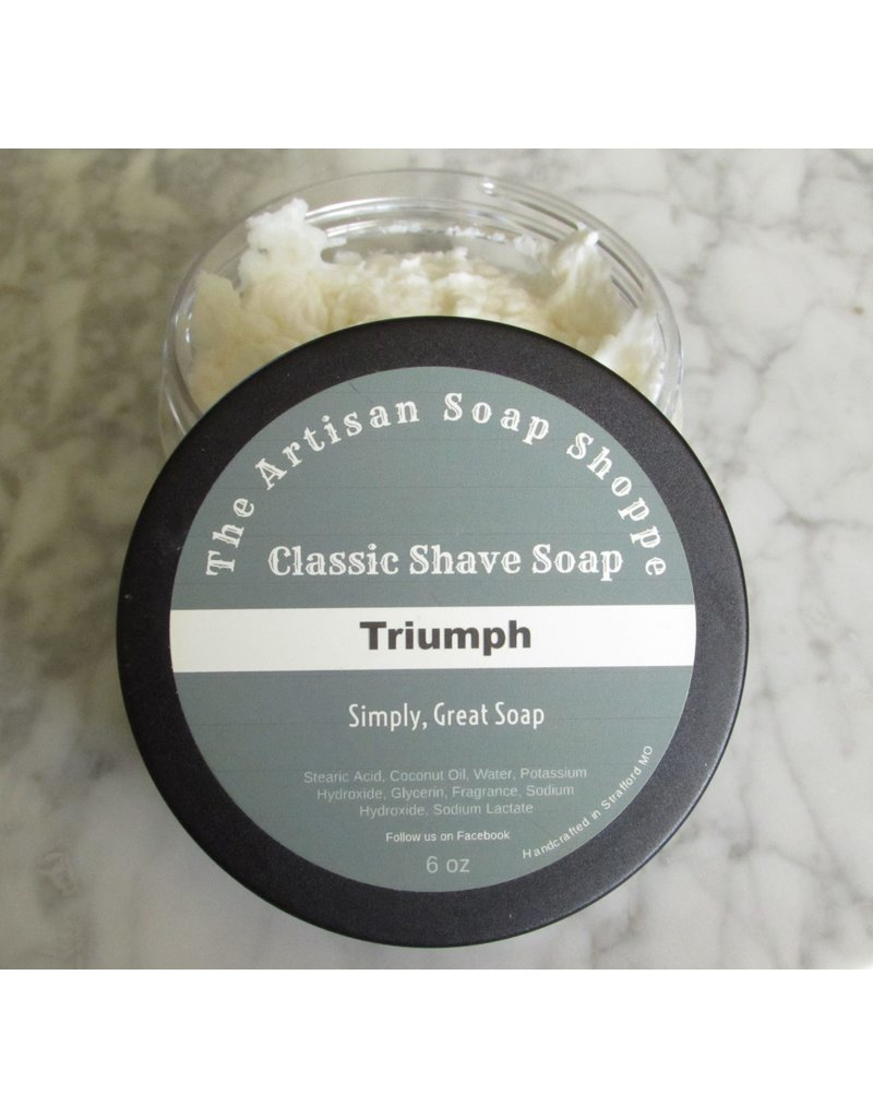 The Artisan Soap Shoppe The Artisan Soap Shoppe - Triumph Shaving Soap