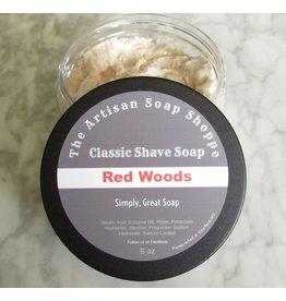 The Artisan Soap Shoppe The Artisan Soap Shoppe -Red Woods Shaving Soap