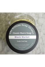 The Artisan Soap Shoppe The Artisan Soap Shoppe - Black Market Shaving Soap
