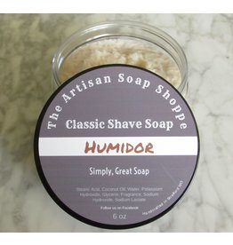 The Artisan Soap Shoppe The Artisan Soap Shoppe - Humidor Shaving Soap